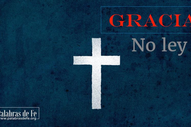 gracia de Dios palabras de fe